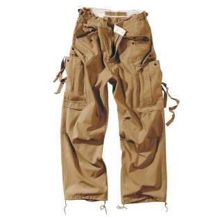 Брюки SURPLUS VINTAGE FATIGUES TROUSERS, [120] Coyote, Surplus Raw Vintage®