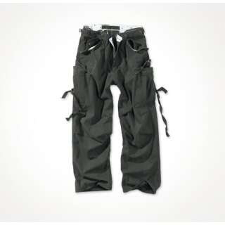 Брюки SURPLUS VINTAGE FATIGUES TROUSERS, [1346] Washed black, Surplus Raw Vintage®