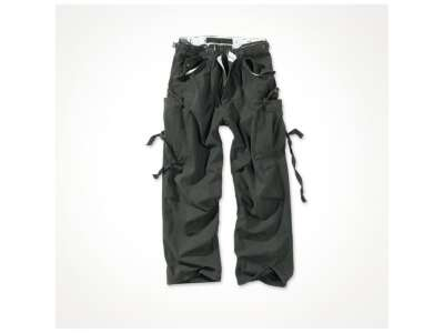 Штани SURPLUS VINTAGE FATIGUES TROUSERS, [1346] Washed black, Surplus