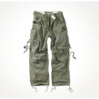 Брюки SURPLUS VINTAGE FATIGUES TROUSERS, [1349] Washed olive, Surplus Raw Vintage®