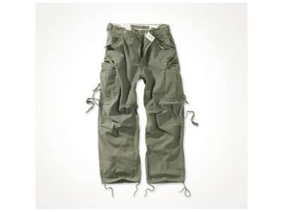Штани SURPLUS VINTAGE FATIGUES TROUSERS, [тисяча триста сорок дев'ять] Washed olive, Surplus