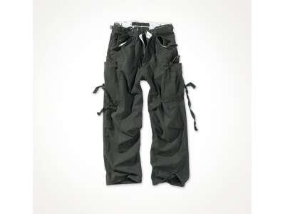 Брюки SURPLUS VINTAGE FATIGUES TROUSERS (Black), Surplus Raw Vintage®