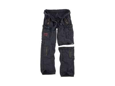 Брюки-трансформери SURPLUS ROYAL OUTBACK TROUSER, Washed black, Surplus Raw Vintage®