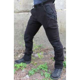 Брюки тренировочные зимние FRWP-Polartec (Frogman Range Workout Pants Polartec 200), [1149] Combat Black, P1G