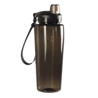 Бутылка для воды (фляга) MIL-TEC SMOKE BOTTLE TRANSPARENT (600 ml), [03501] Smoke Gray, Sturm Mil-Tec® Reenactment