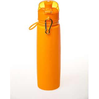 Бутылка силиконовая Tramp 700ml