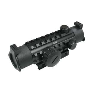 CA 1x30 Red & Green Dot Sight with Rail
