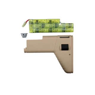 CA SCAR увел. приклад (Tan) (10.8v Mini Type Battery With 1700mah Battery)