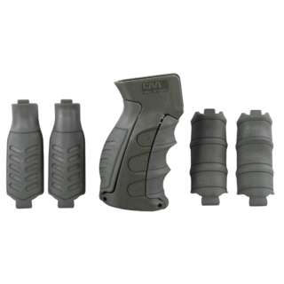 CAA 6-Pieces Interchangeable Pistol Grip for AK/Vz.58 Green