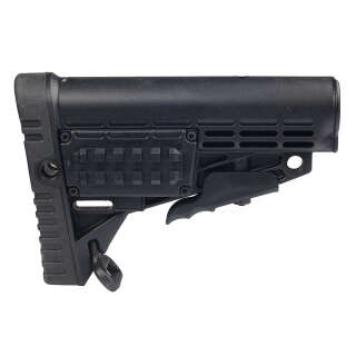 CAA Collapsible Butt Stock Black
