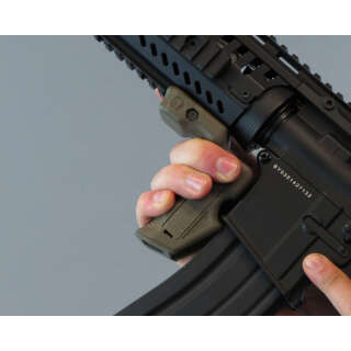 CAA Ergonomic CQB Magazine Grip Green