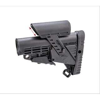 CAA M4 Stock with Adjustable Cheek Rest Black