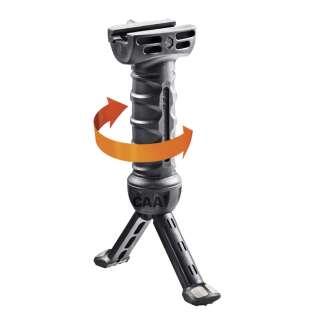 CAA Pivot Pod Grip Polymer/Aluminium Black