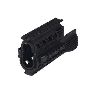 CAA Polymer Rail Hand Guard for AK Black