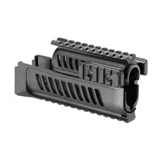 Цевье тактическое FAB для AK 47/74, 4 планки, [019] Black, FAB DEFENSE®