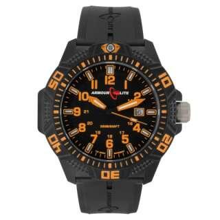 Часы ArmourLite Caliber Orange (ремешок из нитрилового каучука), [461] Orange, ArmourLite Watch Company