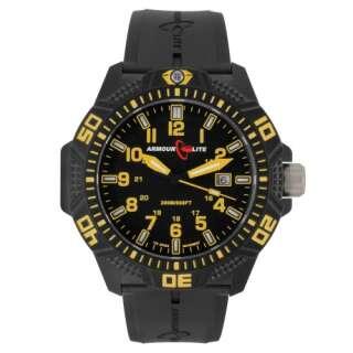 Часы ArmourLite Caliber Yellow (ремешок из нитрилового каучука), [320] High-Vis Yellow, ArmourLite Watch Company