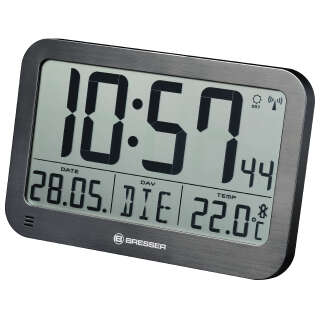Часы настенные Bresser MyTime MC Black (7001803), Bresser (Germany)