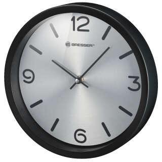 Часы настенные Bresser MyTime Silver Edition Digit Black (8020316CM3000), Bresser (Germany)