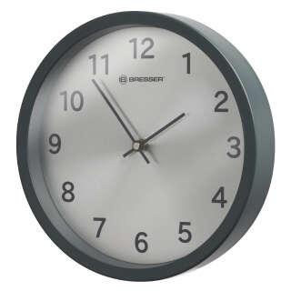 Часы настенные Bresser MyTime Silver Edition Symbol Matte Graphite (8020314UJT000), Bresser (Germany)