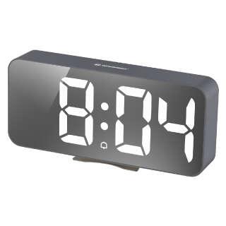 Часы настольные Bresser MyTime Echo FXL Grey (8010072QT5WHI), Bresser (Germany)