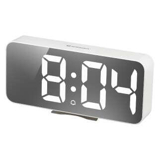 Часы настольные Bresser MyTime Echo FXL White (8010072GYEWHI), Bresser (Germany)