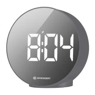 Часы настольные Bresser MyTime Echo FXR Grey (8010071QT5WHI), Bresser (Germany)