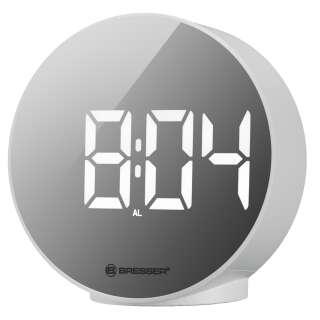 Часы настольные Bresser MyTime Echo FXR White (8010071GYEWHI), Bresser (Germany)