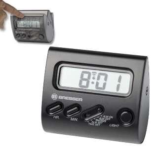 Часы настольные Bresser Yo-Yo Black (8010090CM3000), Bresser (Germany)