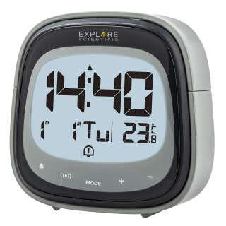 Часы настольные Explore Scientific RC Dual Alarm Black (RDC3006CM3LC2), Explore Scientific (USA)