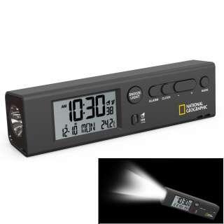 Часы National Geographic Thermometer Flashlight Black (9060300), National Geographic (USA)