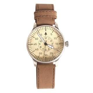 Часы военные лётные кварцевые винтажные ME109, [108] Brown, Sturm Mil-Tec® Reenactment