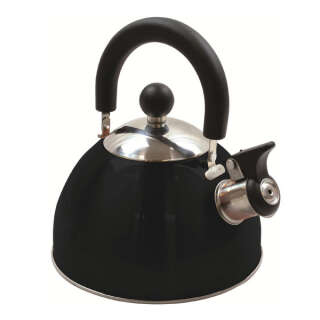 Чайник Highlander Deluxe Whistling 2.0L Black, Highlander (UK)