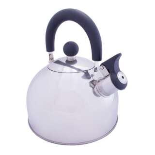 Чайник Vango Stainless Steel With Whistle 2.0L Silver, Vango (UK)