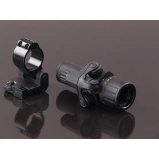 China made 3X Red Scope with QD Side Folding Mount