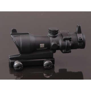China made ACOG 4x32 Scope (with iron sight) Black