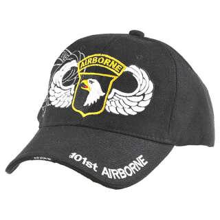 China made бейсболка 101st Airborne черная