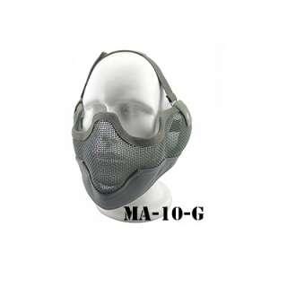 China made маска сетчатая на нижнюю часть лица (с ушами) Grey