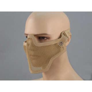 China made маска сетчатая на нижнюю часть лица Tan