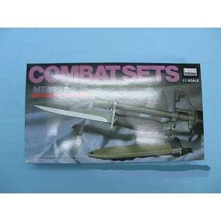 Combat set резиновый нож M7