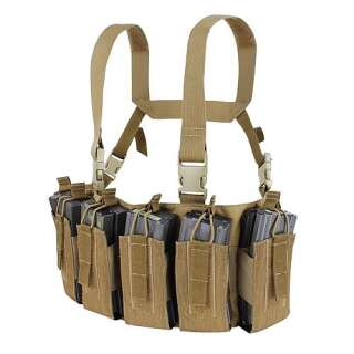 Condor Barrage Chest Rig Brown