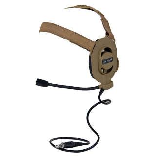 Element Z-Tac Bowman Elite II Headset Tan
