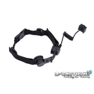 Element Z-Tac Throat Mic Adapter (only for Z029) Black