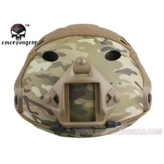Emerson FAST Helmet with Protective Goggle PJ Type Multicam