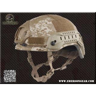 Emerson MICH 2001 Helmet Special Action Ver. Digital Desert