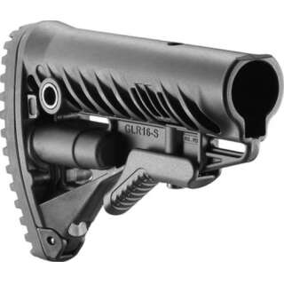 FAB Defense AR15/M16 Buttstock Black