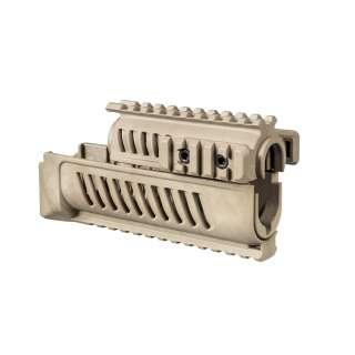 FAB Defense цевье полимерное для АК (4 планки) Tan