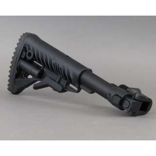 FAB Defense M4 Collapsible Buttstock for AKMS (Underfolder) Black
