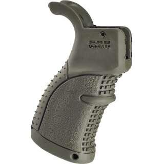 FAB Defense Rubberized Ergonomic M4/M16/AR15 Pistol Grip Green