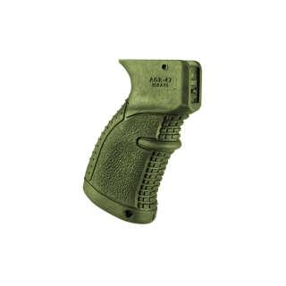 FAB Defense рукоятка пистолетная прорезиненная для АК Green
